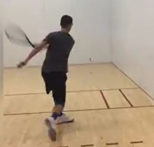 Cut Off Racquetball Drill