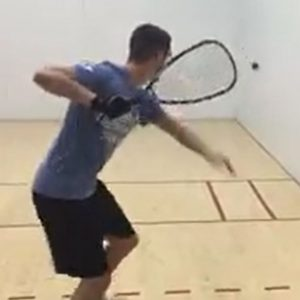 Short Ball Drill For Racquetball