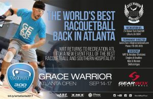 World Racquetball Tour 2017 Grace Warrior Atlanta Open