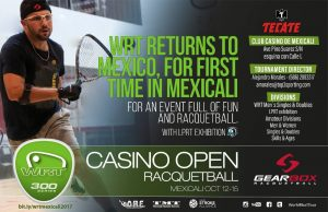 World Racquetball Tour Casino Open 2017