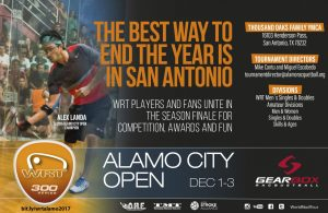 World Racquetball Tour Alamo City Open 2017