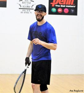 Bobby Horn Racquetball Battle At The Alamo 2018